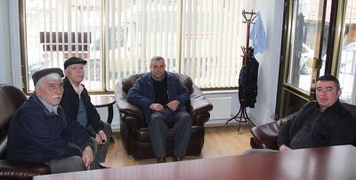 Havza Pir Sultan Abdal Derneğinden Gazetemize Ziyaret