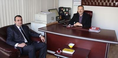 Havza PTT Merkezi Müdüründen İade-i Ziyaret