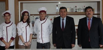 Havza Şehit Recep Şahin MTAL'den Başkan İkiz'e Ziyaret