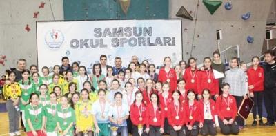 Havza Vakıfbank Ortaokulu Üçüncü Oldu
