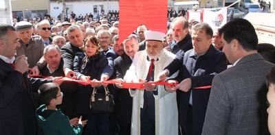 Havza Yeni Mescit Cami İbadete Açıldı