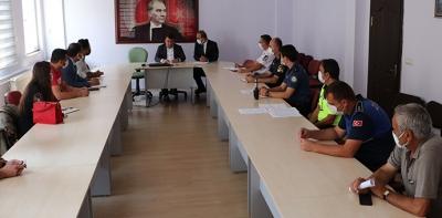Havza'da 2021 – 2022 Eğitim Dönemi Okul Güvenliği Toplantısı Yapıldı