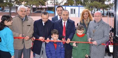 Havza'da 25 Mayıs İlkokulu Binası Hizmete Girdi