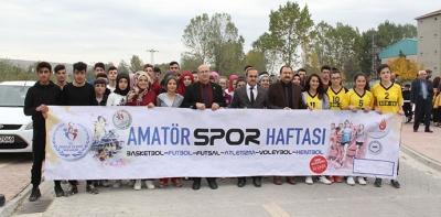 Havza'da 29 Ekim Cumhuriyet Kros Yarışı Düzenlendi