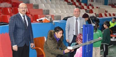 Havza'da 3. Kademe Sportif Yetenek Taraması Yapıldı