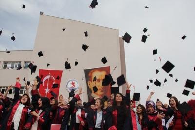 Havza'da  350 Öğrenci Mezun Oldu