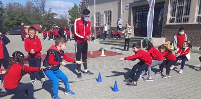 Havza'da Amatör Spor Haftası Etkinliği Düzenlendi