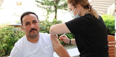 Havza'da Covit – 19 Aşı Çalışmaları Hızlandı