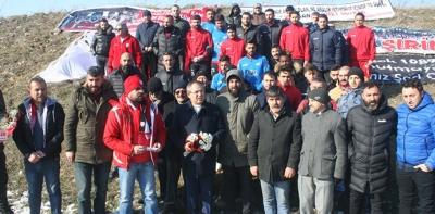 Havza'da Futbol Şehitleri Anıldı