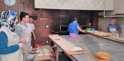 Havza'da Gıda Satışı Yapılan İşyerlerine Ramazan Denetimi