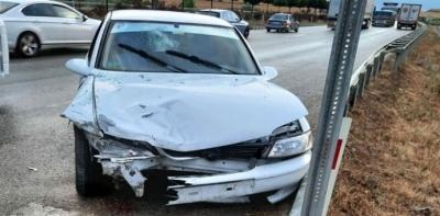 Havza'da İki Otomobil Çarpıştı: 6 Yaralı
