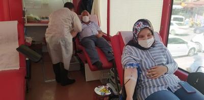 Havza'da Kan Bağışı Kampanyası