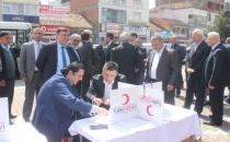 Havza'da Kan Bağışı Kampanyası Başladı