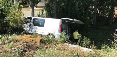 Havza'da Kaza 1'i Ağır 5 Yaralı