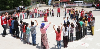 Havza'da Kızılay Şenlendirme Projesi Kapsamında Etkinlik Düzenlendi