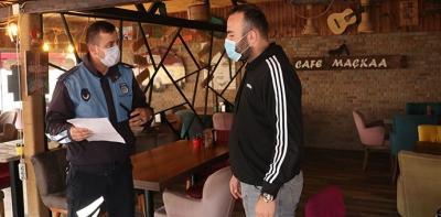 Havza'da Kovit 19 Ek Tedbirleri Esnafa Tebliğ Edildi