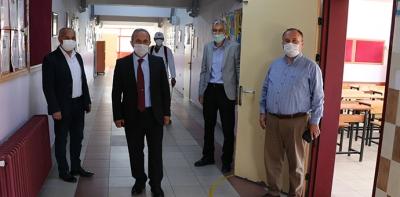 Havza'da LGS Sınavı için Tüm Tedbirler Alındı