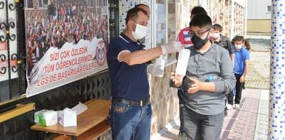 Havza'da LGS Sınavına 699 Öğrenci Katıldı