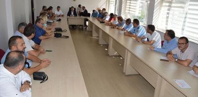 Havza'da Öğrenci Servisleri Ve Okul Güvenliği Toplantısı