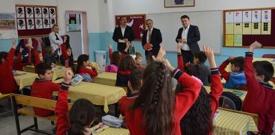 Havza'da Öğrencilerle Okuyoruz 100. Yıl İlkokulunda