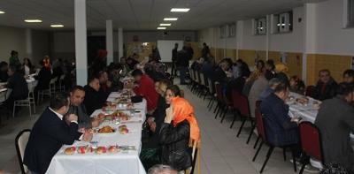 Havza'da Öğretmenler Yemekte Bir Araya Geldi