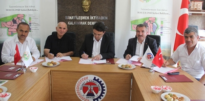 Havza'da Örnek Okul-Sanayi İşbirliği Protokolü  İmzalandı