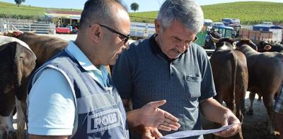 Havza'da polisten sahte para uyarısı