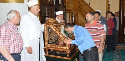 Havza'da Sakal-I Şerif Ziyarete Açıldı