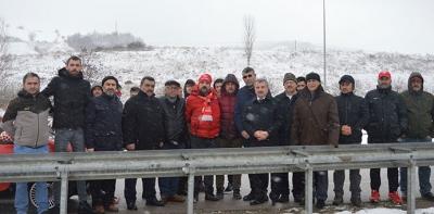 Havza'da Samsunspor Futbol Şehitleri Anıldı