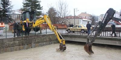 Havza'da Sel Ucuz Atlatıldı