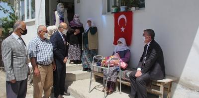 Havza'da, Sosyal Mesafe'li 19 Mayıs Töreni