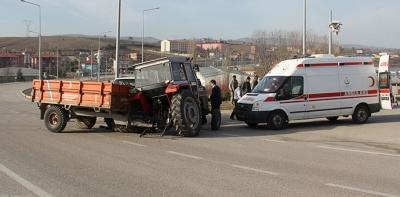 Havza'da Trafik Kazası 11 Yaralı
