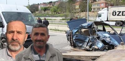 Havza'da Trafik Kazası 2 Ölü 2 Yaralı