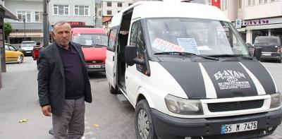 Havza'da Vatandaş Servis, Servisçiler Durak İstiyor
