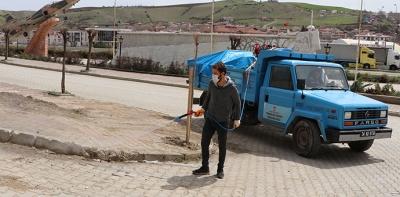 Havza'da yabani ot ile mücadele