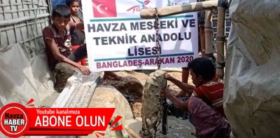 Havza'dan 11 Okulumuzdan, Arakanlı Müslümanlara 11 Kuyu- Video Haber