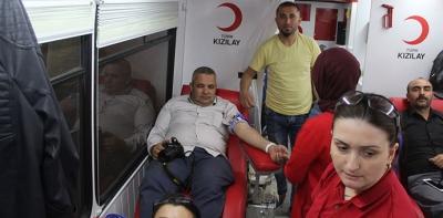 Havza'dan 54 Ünite Kan Bağışı Toplandı