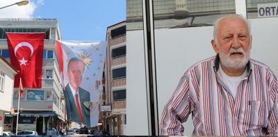 Havzalı Gurbetçi Cumhurbaşkanı Sevgisini Dev Poster İle Gösterdi