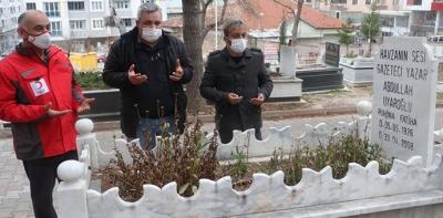 Havzalı Merhum Gazeteci Mezarı Başında Anıldı