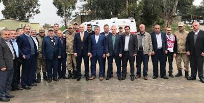 Havzalı Muhtarlar Afrin'den Döndü
