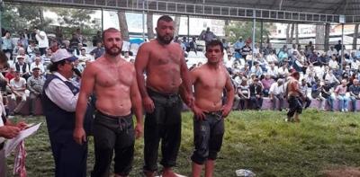 HAVZALI PEHLİVAN ŞÜKRÜ SEVEN ALTIN MADALYA KAZANDI