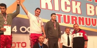 Havzalı Sporcu, Türkiye Kick Boksta Birinci Oldu