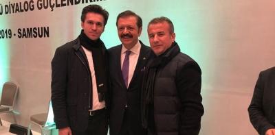 Havza'nın Sorunlarını TOBB Başkanı Hisarcıklıoğlu'na İletti
