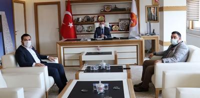 İl Gençlik Kollarından Başkan Özdemir'e Ziyaret