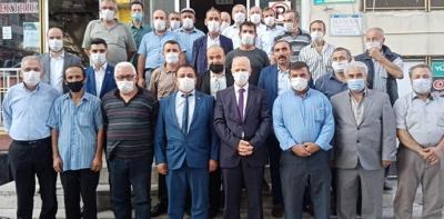 İl Yönetiminden MHP'ye Ziyaret