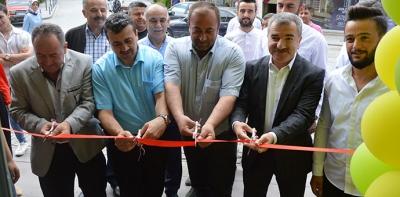 İlçemize Yeni Bir İşyeri Cafe Pera Açıldı