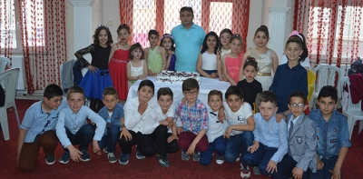 İlkokul Öğrencilerinden Veda Partisi