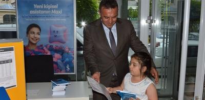 İş Bankasından Çocuklara Karne Hediyesi