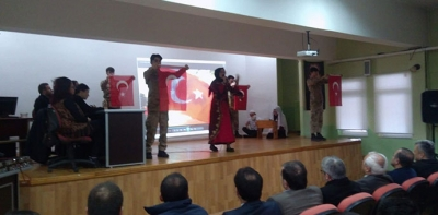 İstiklal Marşını Güzel Okuma Yarışması Düzenlendi