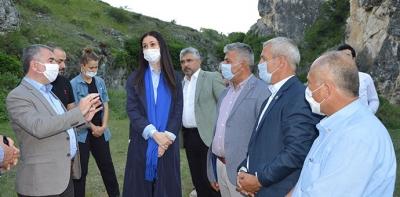 Karaaslan, Havza'da Kırsal Mahalleleri Ziyaret Etti